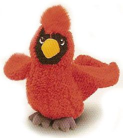 Cardinal Plush Bird By Russ Berrie 5 50 Jeannie S Cottage